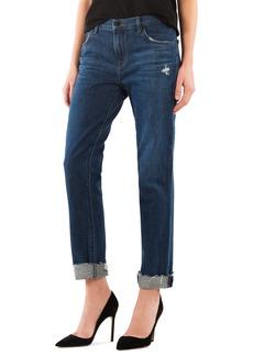 J Brand Johnny Mid Rise Boyfriend Jeans (Doubletake)