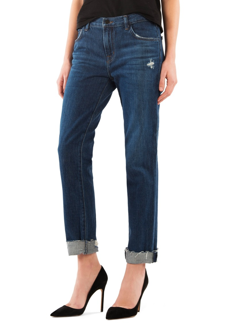 0481ee4bdc52 On Sale today! J Brand J Brand Johnny Mid Rise Boyfriend Jeans ...