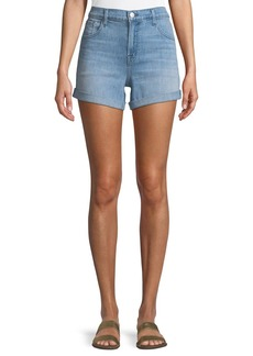 J Brand Johnny Mid-Rise Denim Shorts