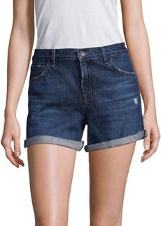 J Brand Johnny Rolled Cuff Denim Shorts