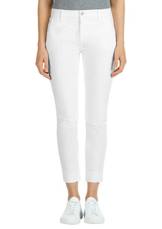 J Brand 'Josie' Tapered Leg Crop Trousers
