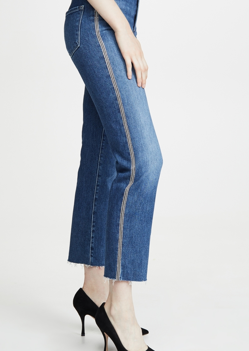 J Brand Jules High Rise Straight Jeans