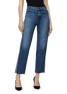 J Brand Jules High-Rise Straight Jeans in Urbanite