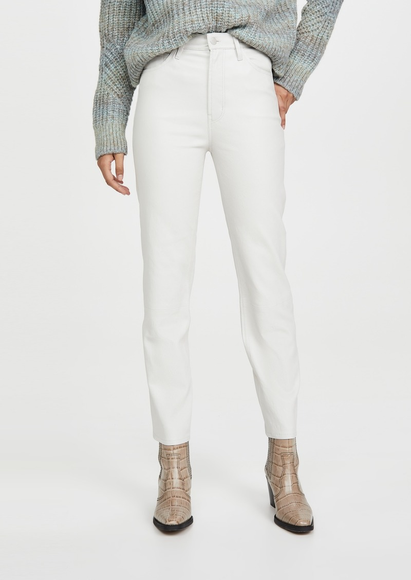 J Brand Jules High Rise Straight Pants