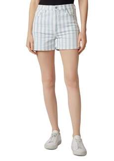 J Brand Jules Striped Denim Shorts
