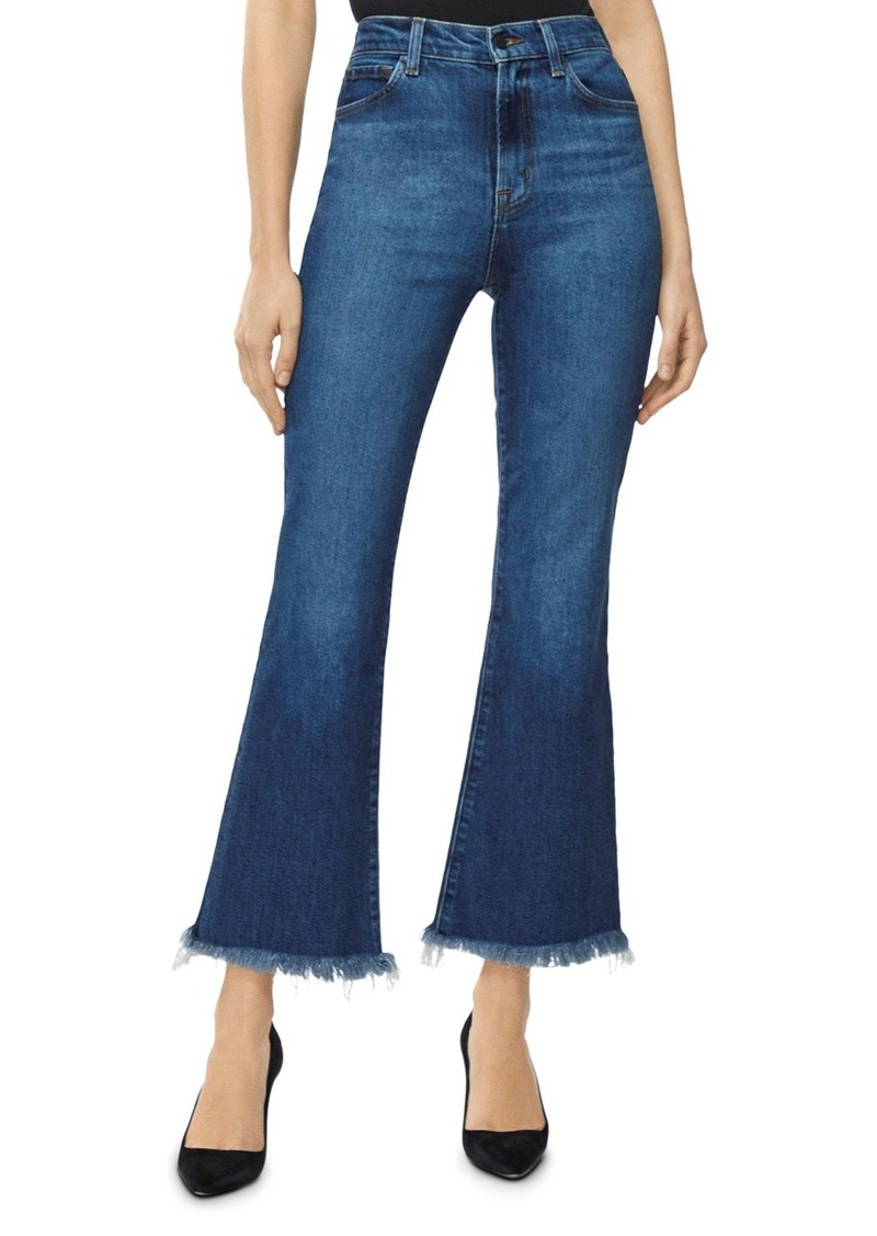 J Brand Julia High Rise Flared Jeans in Romance