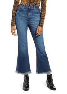 J Brand Julia High Waist Crop Flare Jeans (Romance)