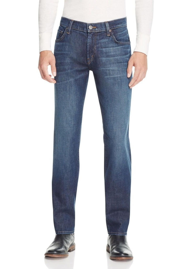J Brand Kane Slim Straight Fit Jeans in Kabru