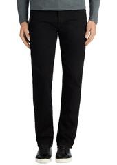 J Brand Kane Slim Straight Leg Jeans (Trivor Black)