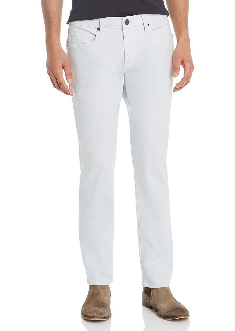 J Brand Kane Slim Straight Fit Jeans in Achromic