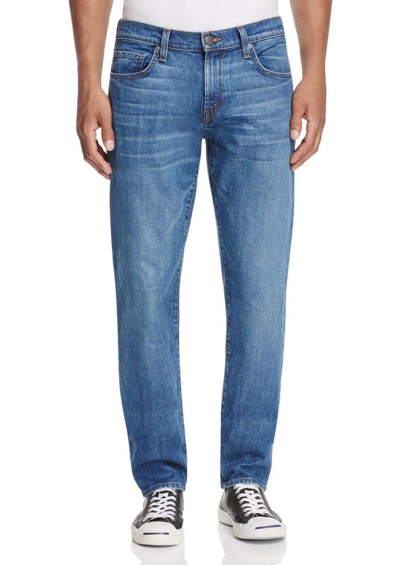 J Brand Kane Straight Fit Jeans in Karnet