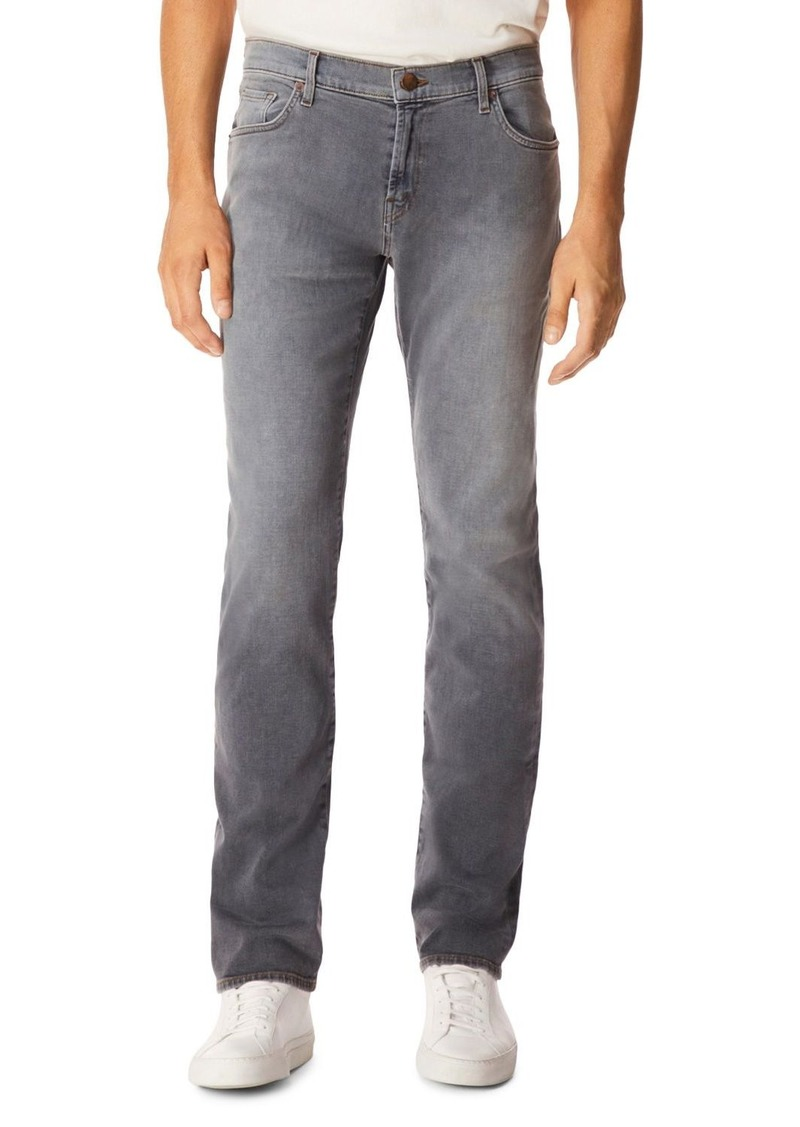 J Brand Kane Slim Straight Fit Jeans in Strues