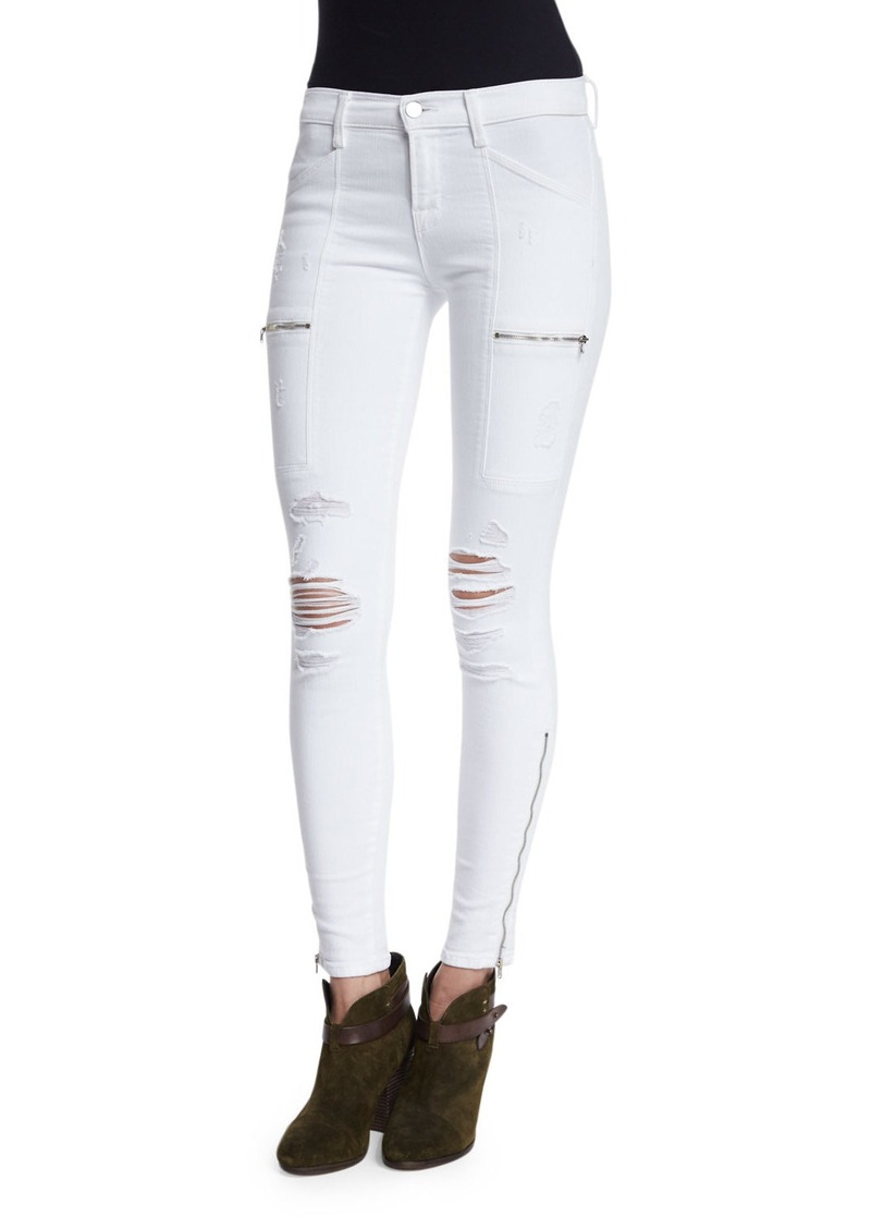 J Brand Kassidy Distressed Skinny Jeans