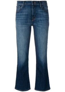 J Brand kick flare faded jeans - Blue
