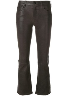 J Brand kick flare trousers - Grey