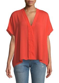 Kiko V-Neck Short-Sleeve Top
