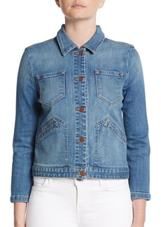 J BRAND Lacy Boot Denim Jacket