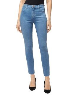 J Brand Leenah High-Rise Ankle Skinny Jeans