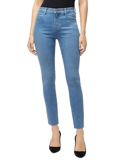 J Brand Leenah High-Rise Ankle Skinny Jeans