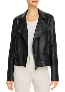 J Brand Letty Moto Leather Jacket