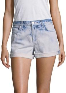 J Brand Light Washed Denim Shorts