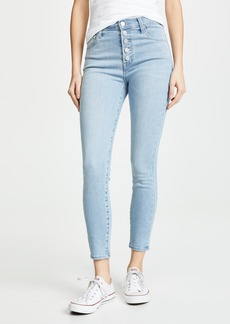 J Brand Lillie High Rise Crop Skinny Jeans