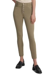 J Brand Lillie High Rise Cropped Skinny Jeans