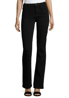 J Brand Litah High-Rise Boot-Cut Jeans