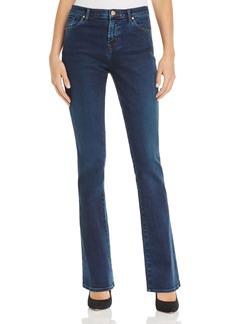 J Brand Litah High Rise Bootcut Jeans in Throne