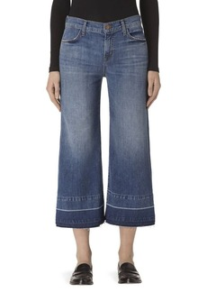 J BRAND Liza Released Hem Denim Culottes/Heartbroken