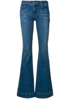 J Brand long flared jeans - Blue
