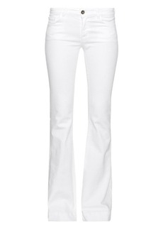 J Brand Love Story low-rise flared jeans