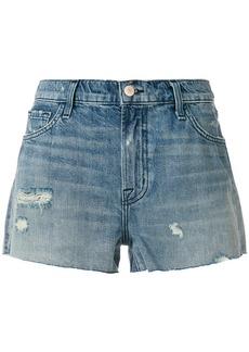 J Brand low rise denim shorts - Blue
