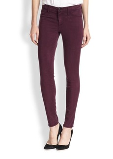 J BRAND Luxe Sateen Mid-Rise Skinny Jeans