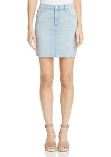 J Brand Lyla Denim Mini Skirt in Sky
