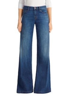 J Brand Lynette Super Wide Leg Jeans (Essential)