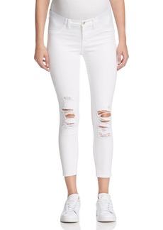 J Brand Mama J Capri Jeans in Demented