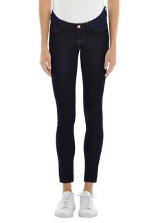 J Brand Mama J Super Skinny Maternity Jeans (Ink)