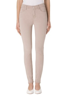 J Brand 'Maria - Luxe Sateen' High Rise Skinny Jeans