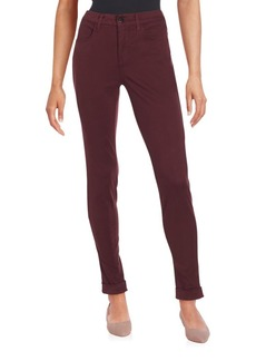 J BRAND Maria Cuffed Skinny Jeans