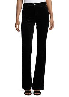 J Brand Maria Flare Velvet Pants