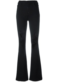 J Brand 'Maria' flared jeans - Black