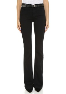 J Brand Maria High Rise Flare Jeans