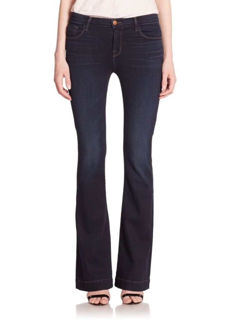 J BRAND Maria High-Rise Flare Jeans