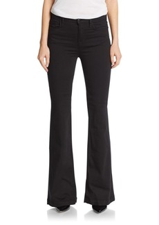 J BRAND Maria High-Rise Flared Button Jeans