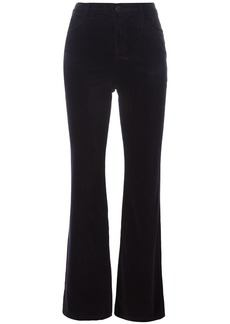 J Brand 'Maria' high rise flared jeans - Blue