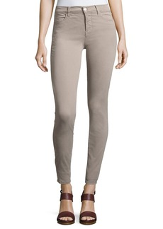 J Brand Maria High-Rise Sateen Super Skinny Pants