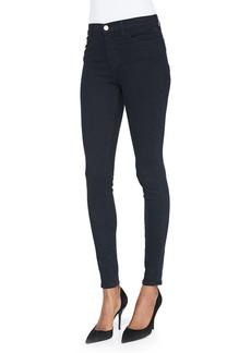 J Brand Maria High-Rise Skinny Jeans  Bluebird