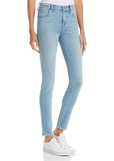 J Brand Maria High-Rise Skinny Jeans in Arise
