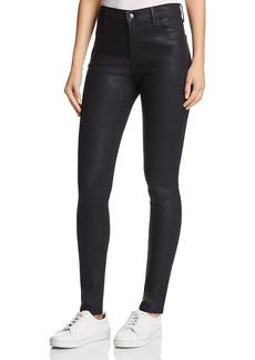 J Brand Maria High-Rise Skinny Jeans in Cristalline
